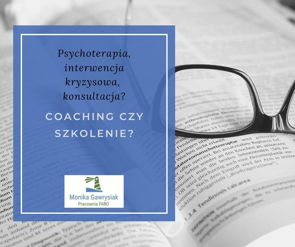 monika gawrysiak psychoterapia interwencja kryzysowa coaching konsultacja szkolenie