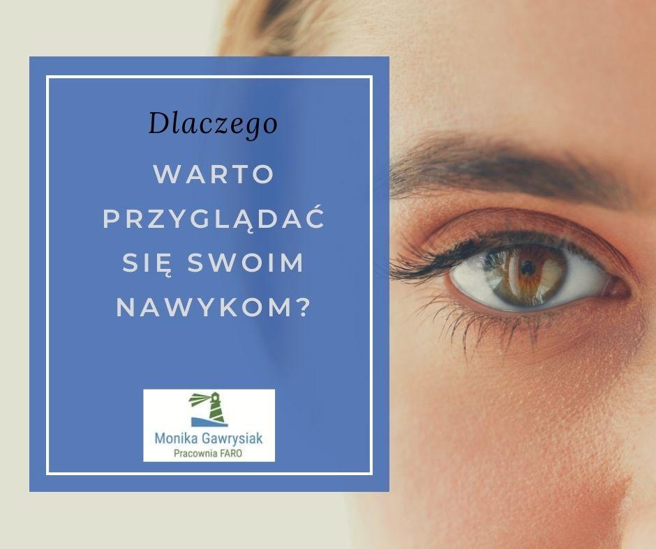 Dlaczego warto przyglądać się swoim nawykom - monikagawrysiak.pl