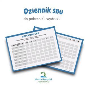 Dziennik snu grafika monikagawrysiak.pl  300x300 - Problemy zesnem useniorów - poradź sobie znimi!