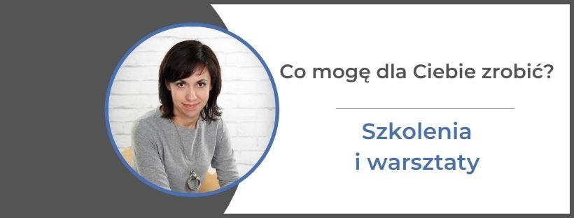 szkolenia iwarstaty psycholog Monika Gawrysiak monikagawrysiak.pl  - Szkolenia, warsztaty