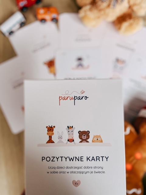Pozytywne Karty ParuParo 2 - Jak zbudować poczucie własnej wartości?