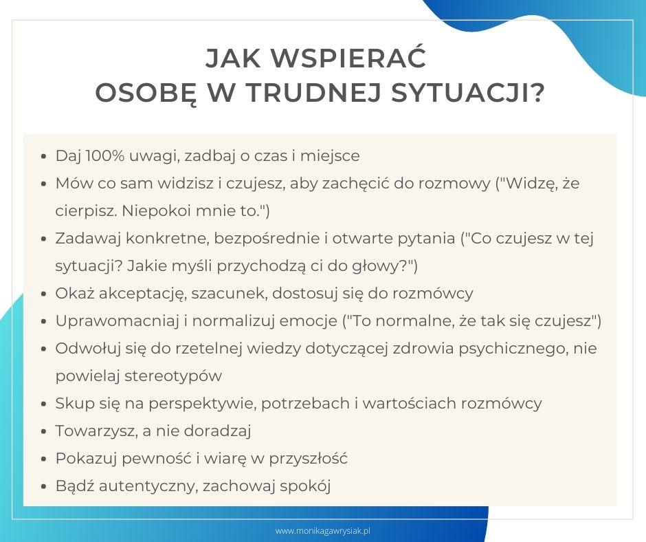 Jak wspierac osobe wtrudnej sytuacji monikagawrysiak.pl  - Jak wspierać osobę wtrudnej sytuacji?