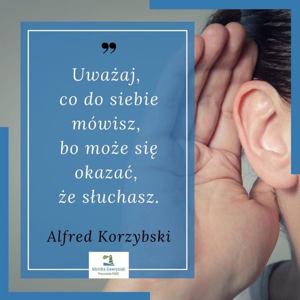 Uwazaj co dosiebie mowisz bo moze sie okazac zesluchasz Alfred Korzybski monikagawrysiak.pl  1024x1024 - Czypotrafisz dostrzec swoje błędy wmyśleniu?